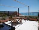 Atico amueblado con fantásticas vistas al mar en Sitges. Zona la Marina de Aiguadolç.