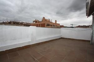 Àtic amb terrassa en planta
