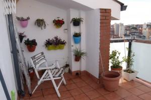 Apartamento duplex con terraza