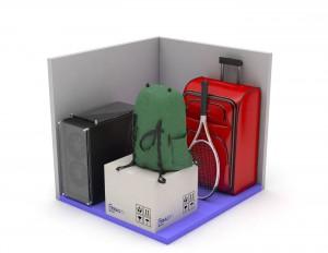 Traster petit Rubí centre - Minibox XS
