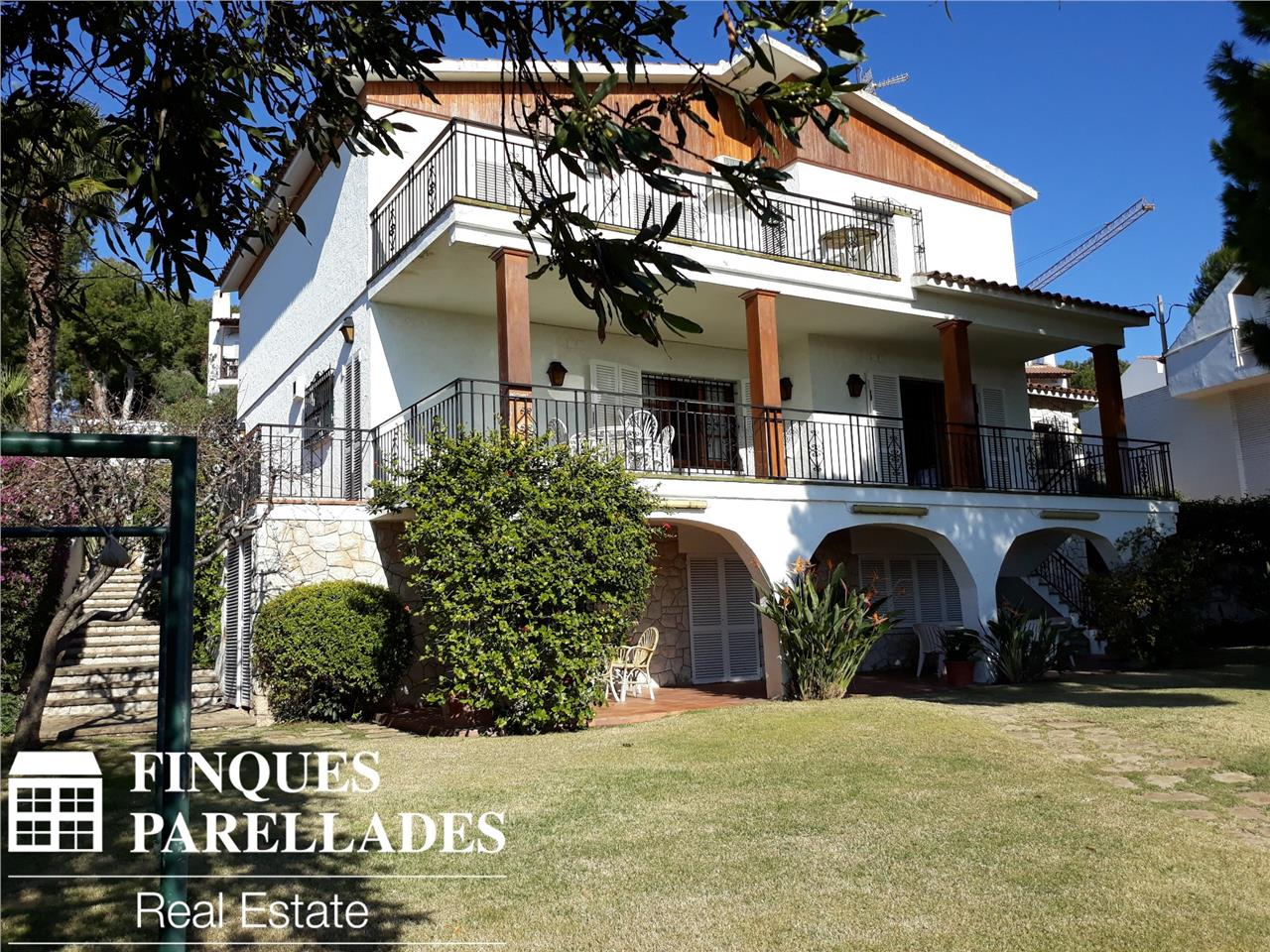 Casa con impresionantes vistas al mar Sitges. Zona Vallpineda.